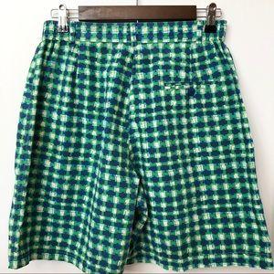 Lilly Pulitzer Shorts - Lilly Pulitzer Vintage Blue Green Shorts • Sz 12P